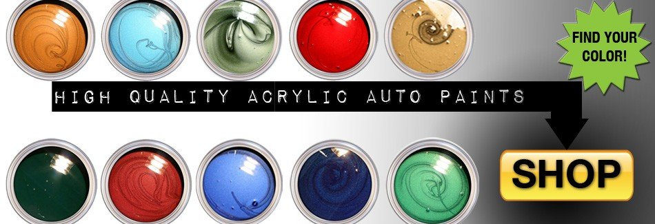 High Quality Acrylic Auto Paints