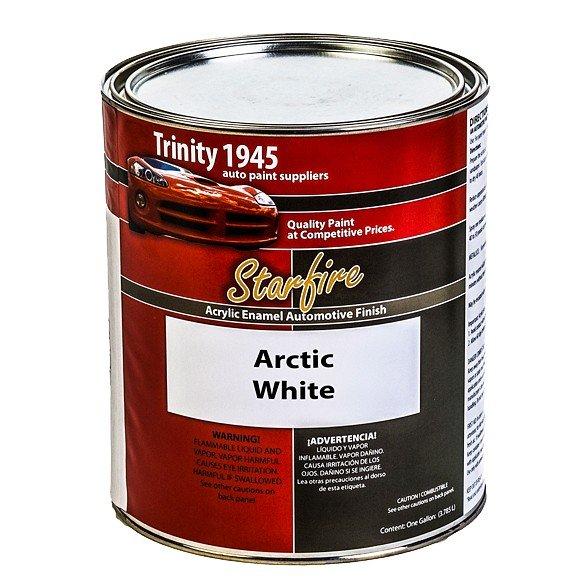 Acrylic Enamel Paint >> Starfire Acrylic Enamel Auto Paint Arctic White 1 Gallon