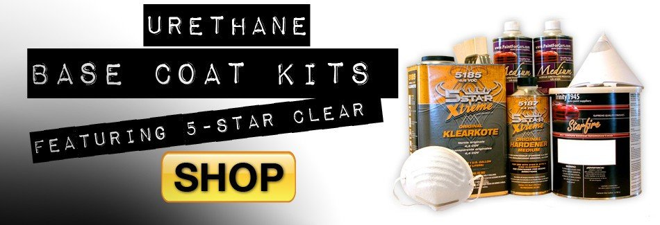 Urethane Base Coat Car Paint Kits