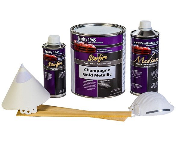 Champagne-Gold-Metallic-Auto-Paint