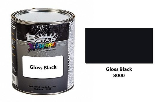 Gloss-Black-Urethane-Paint-Kit-5-Star-Xtreme