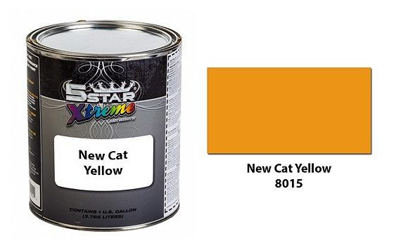 New-Cat-Yellow-Urethane-Paint-Kit-5-Star-Xtreme