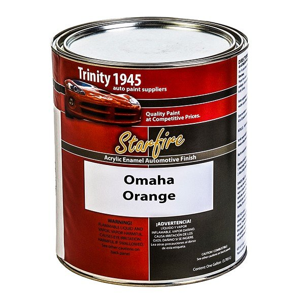 Omaha-Orange-Acrylic-Enamel-Auto-Paint-Gallon-SF
