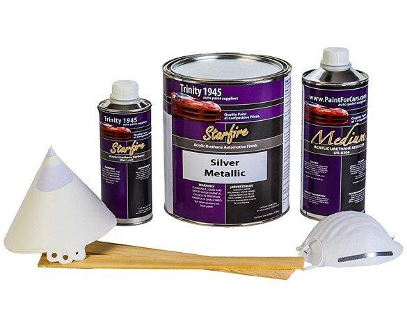 Silver-Metallic-Auto-Paint