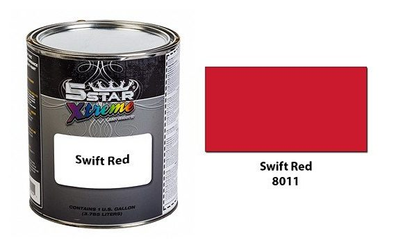 Swift-Red-Urethane-Paint-Kit-5-Star-Xtreme