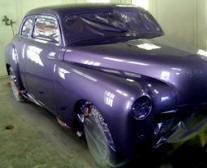 Purple auto paint