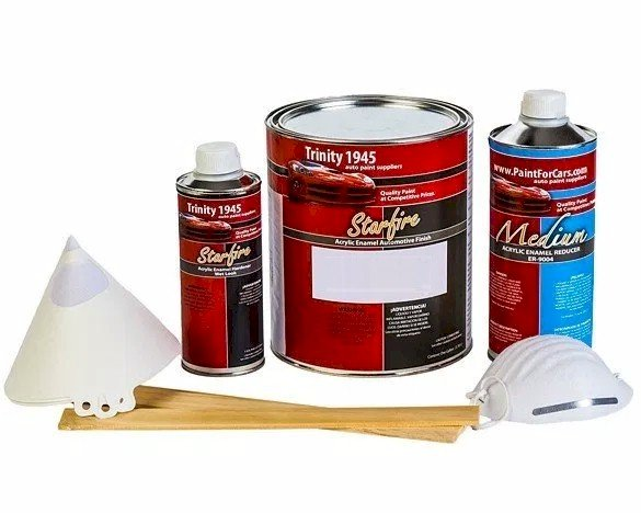 Trinity 1945 Inc. Starfire Single Stage Auto Paint Kit